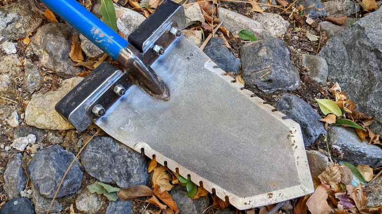 The Ideal Metal Detecting Shovel for Rocky Ground
